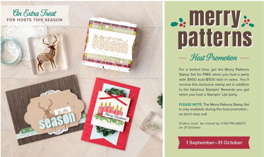 Merry Patterns - Host Promotion