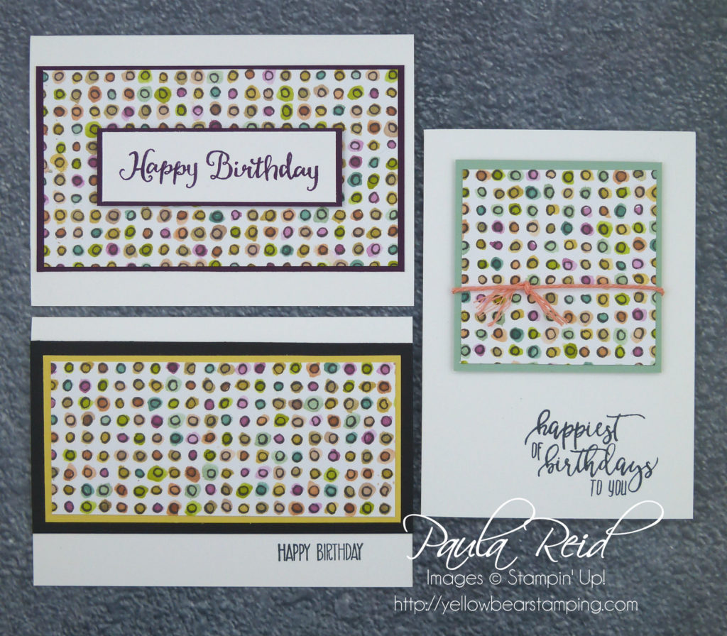 One Sheet Wonder Share What You Love Cards Yellow Bear Stamping