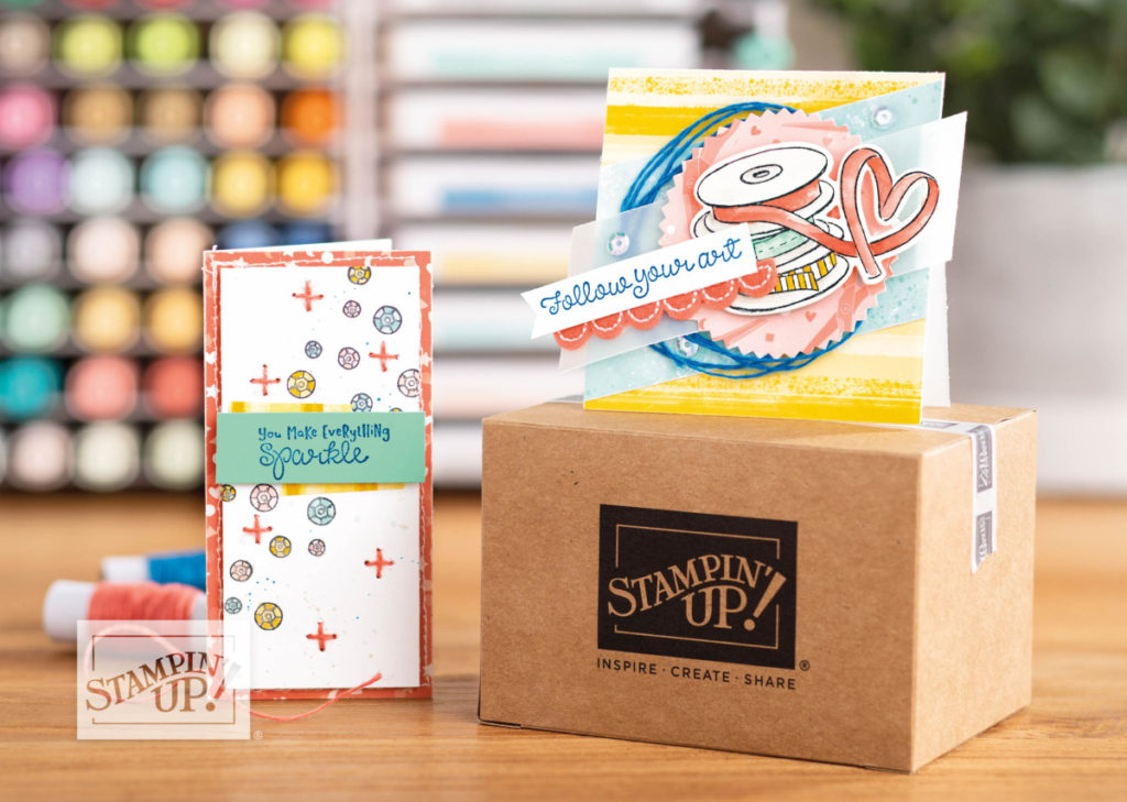 Follow Your Art - Mini Shipping Box