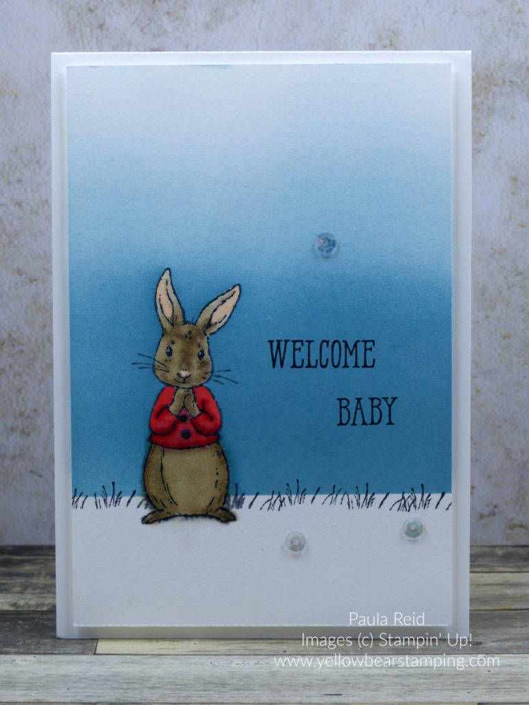 Fable Friends - Baby Card - Poppy Parade