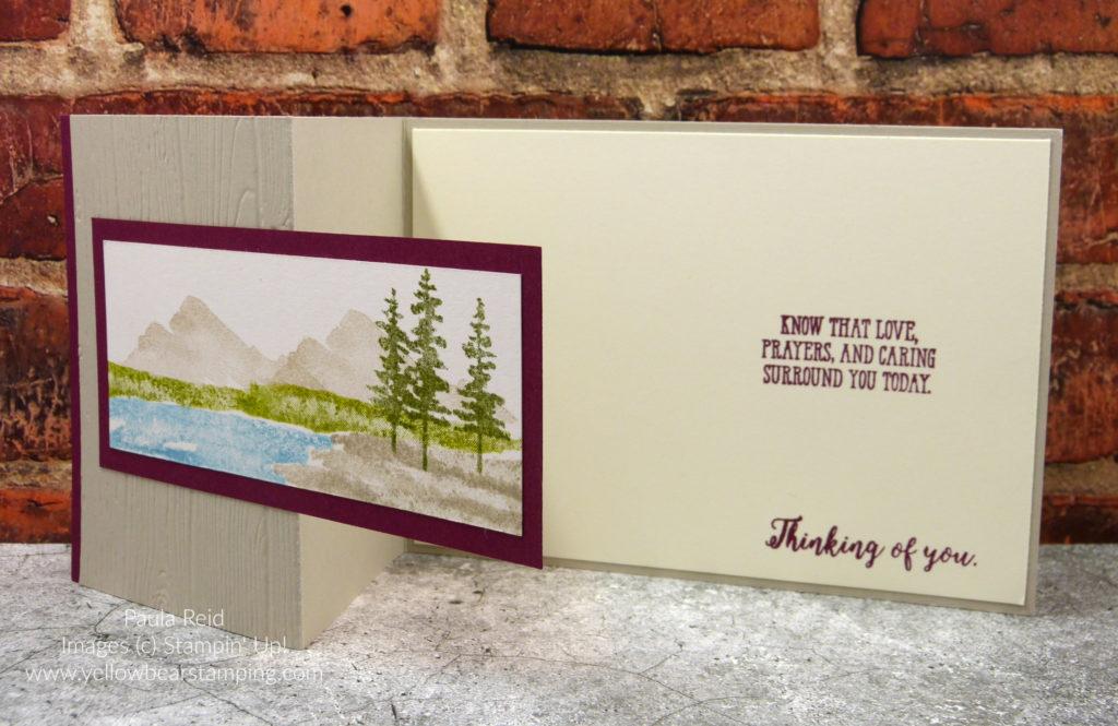 Waterfront - Sympathy Card