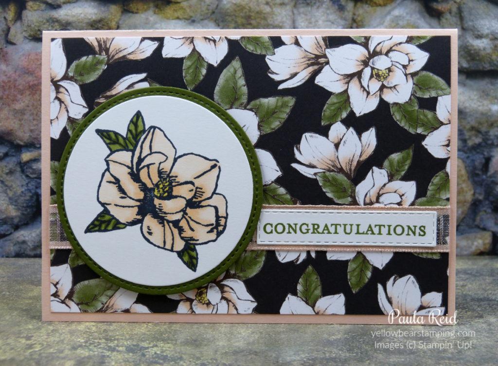 Magnolia Blooms - Congratulations