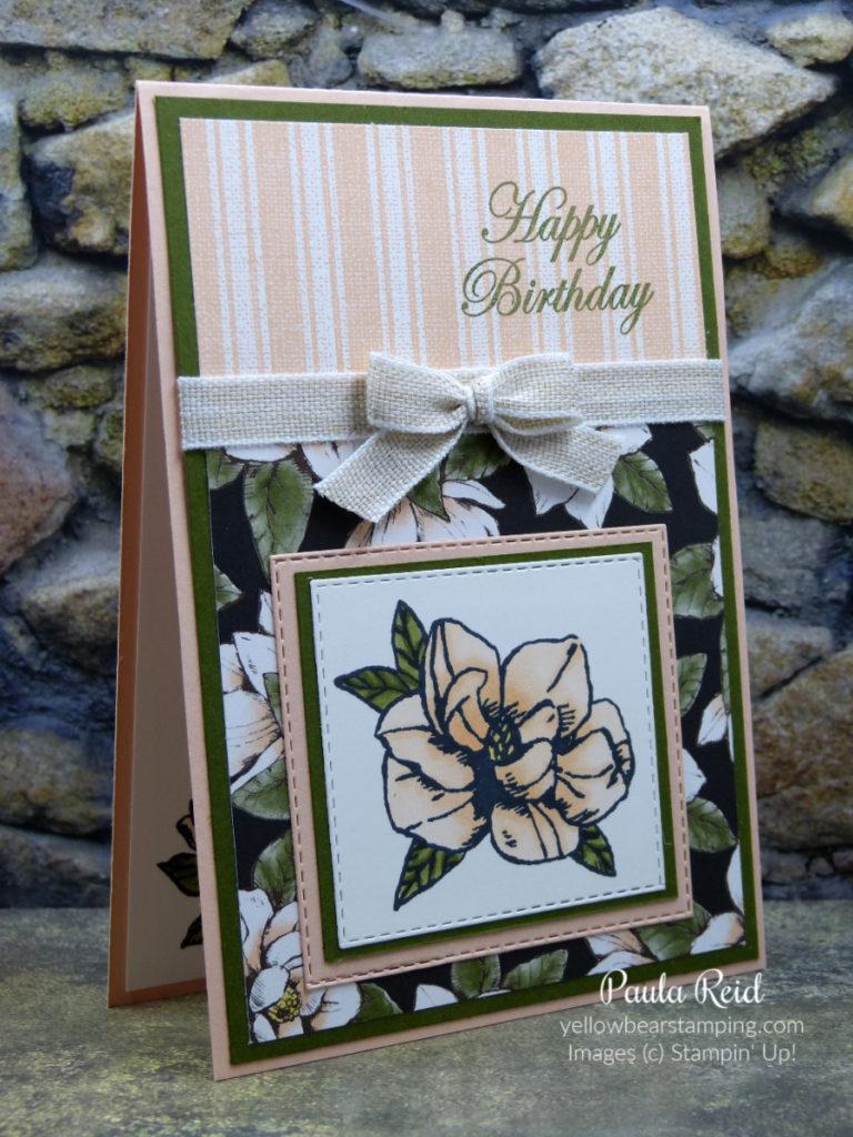 Magnolia Blooms - Happy Birthday