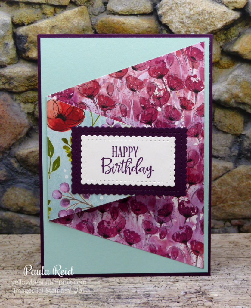 Handmade Thinking of You Greeting Card flower pink  using Stampin/' Up products
