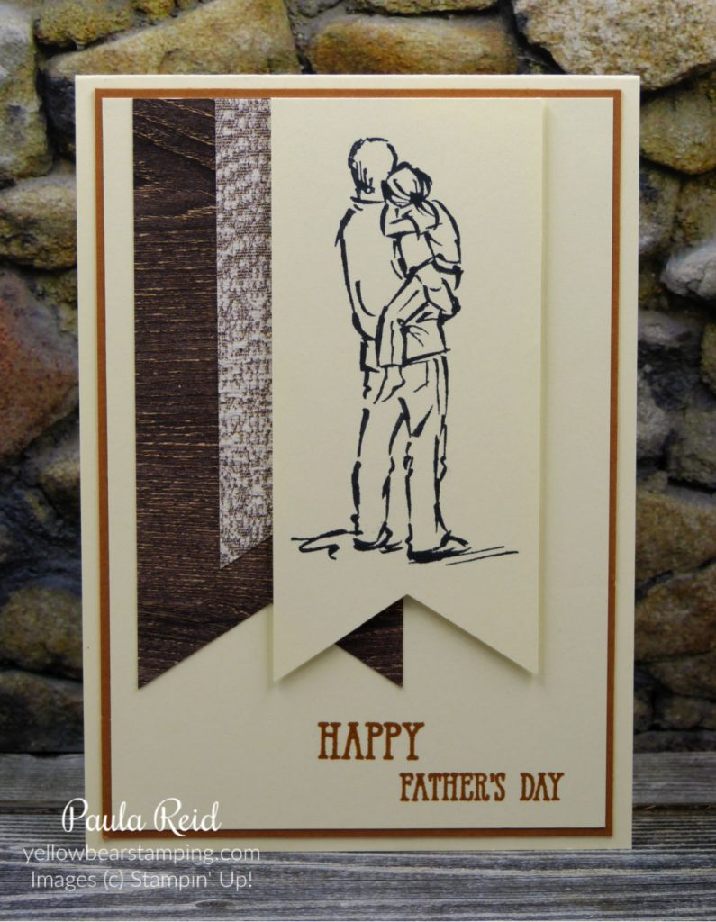 A Good Man - Fathers Day -Banner Card