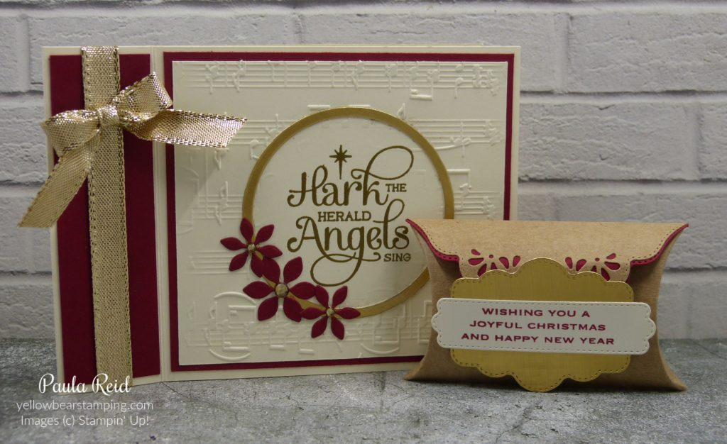 For Unto Us - Book Card and Pillow Box