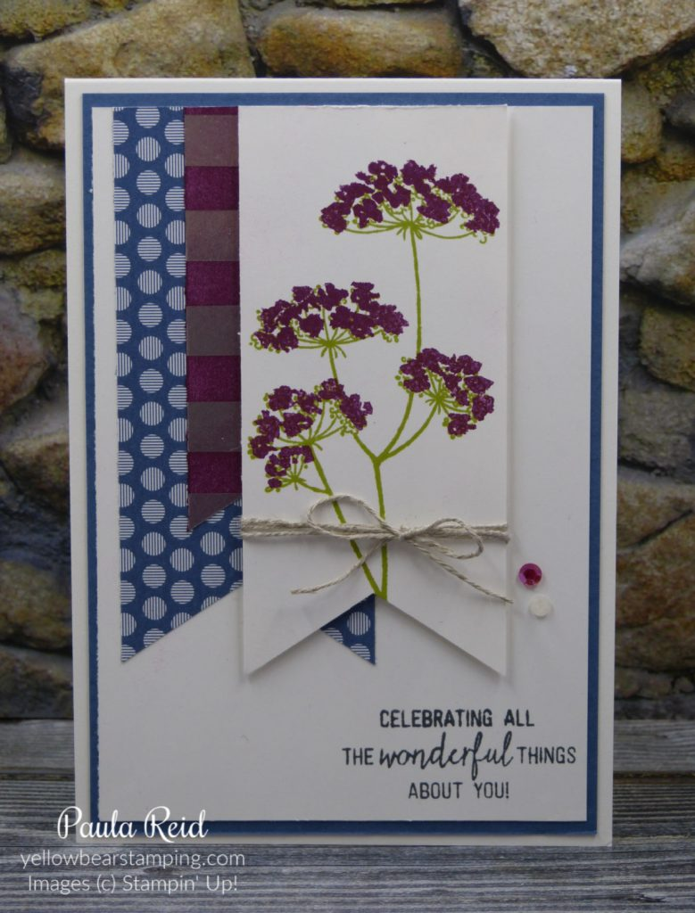 Queen Annes Lace - Banner Card